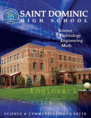 St Dominic STEM.indd - St. Dominic High School