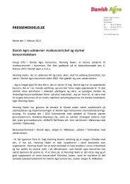 07.02.2013: Henning Haahr udnævnt til ... - DLA Agro