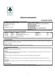 Chemtox Miljøsystem 5.x - Print