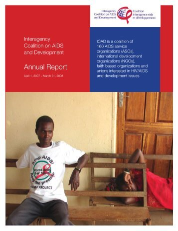 Annual Report - Interagency Coalition on AIDS and Development