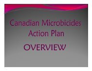 The Canadian Microbicides Action Plan