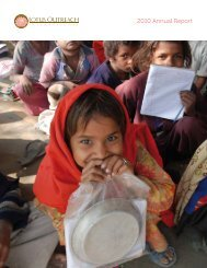 2010 Annual Report - Lotus Outreach