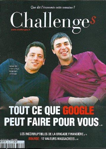 Google - Challenges
