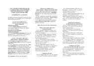 Programme du Congrès - APLAES