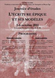 Programme - APLAES