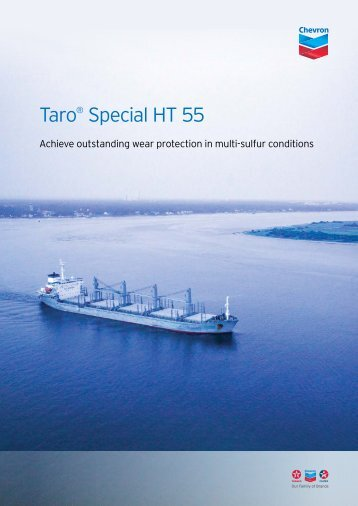 Taro® Special HT 55 - Chevron Global Marine