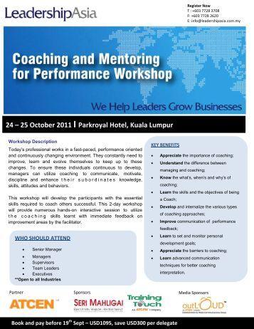 25 October 2011  I Parkroyal Hotel, Kuala Lumpur - ATCEN Academy