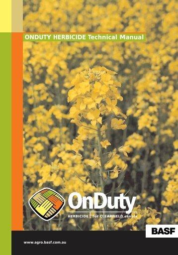 onduty herbicide - Pest Genie