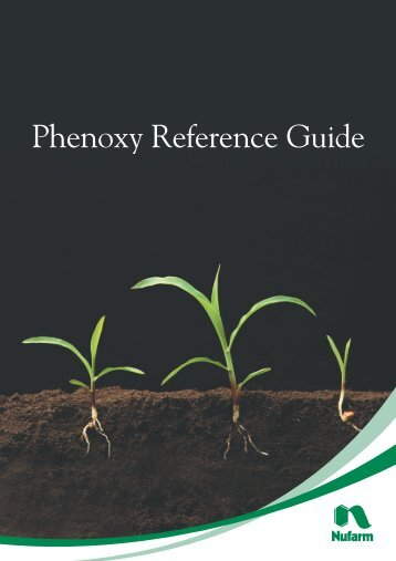 Phenoxy Reference Guide - Pest Genie