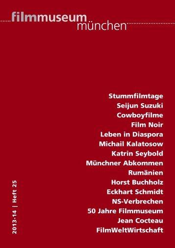 Programmheft - Münchner Stadtmuseum