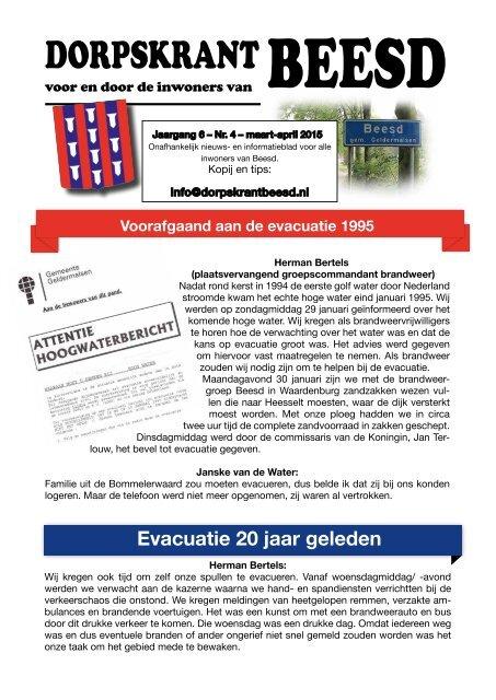 DORPSKRANT BEESD - JAARGANG 6 - NR.4
