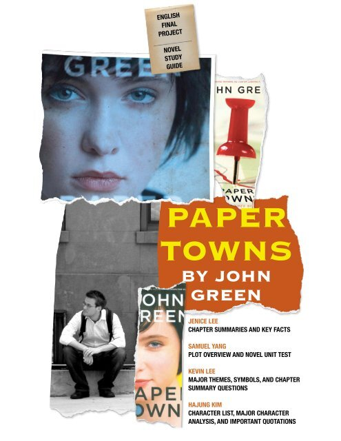 Where Can I Paper Towns Pdf By John Green