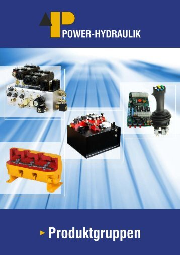 Übersicht, .pdf-Prospekt, ca. 5 MB - Power-Hydraulik