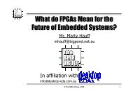 What do FPGAs Mean for the Future of Embedded Systems?