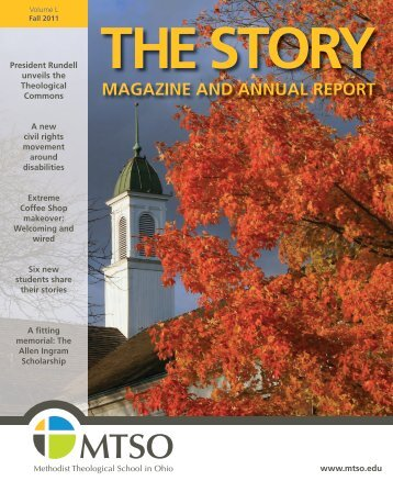 magazine and annual report - Methodist Theological School in Ohio