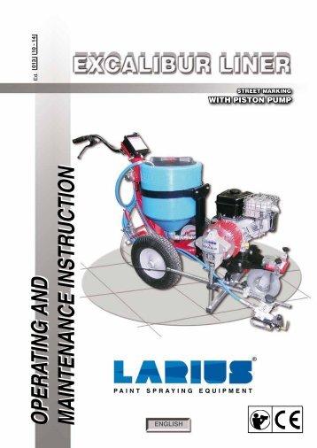 OPERATING AND MAINTENANCE INSTRUCTION ... - larius.org