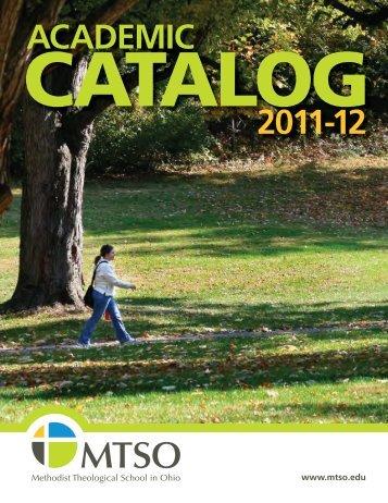 ACADEMIC 2011-12 - Methodist Theological School in Ohio