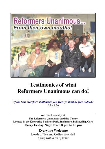 Testimonies - Bible Baptist Church of Blarney