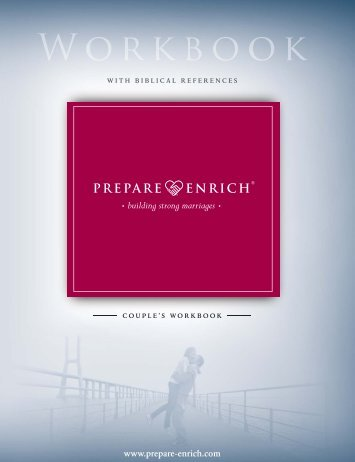 Couple's Workbook with Biblical References (NLT) - Prepare-Enrich