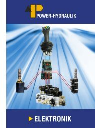 Elektronik Flyer, .pdf-Prospekt, ca. 1 MB - Power-Hydraulik