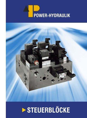 Steuerblöcke, .pdf-Prospekt, ca. 1 MB - Power-Hydraulik