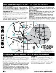 DIRECTIONS - Grant Wood AEA