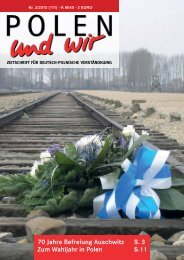 POLEN und wir - April 2015