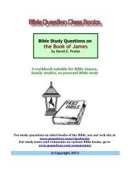 1 John - Bible Study Lessons