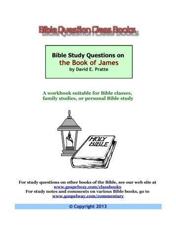 James bible study lesson