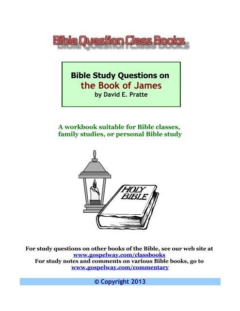 James - Bible Study Lessons
