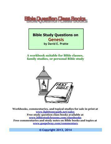 World Wide Study Bible: Genesis - Christian Classics ...