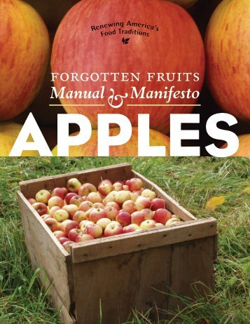 Forgotten Fruits Manual and Manifesto: Apples - American Livestock ...