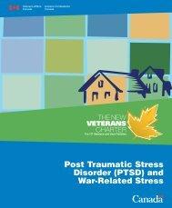Canadian Veterans and war stress - Dr. Patricia A. Farrell