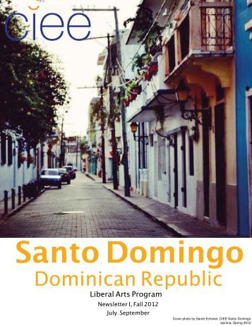 Santo Domingo - Gap Year Abroad in Chile & Spain Blog | Gap Year ...