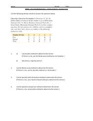 Voting – Practice Test (all methods with solutions) - Lynn English ...