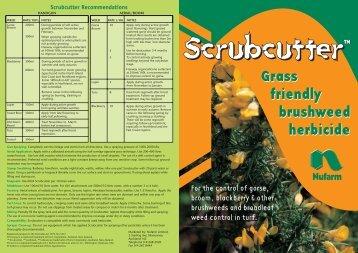 TM Scrubcutter Recommendations - Pest Genie