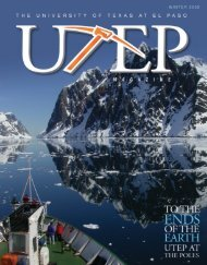 The University of Texas at El Paso - UTEP Magazine