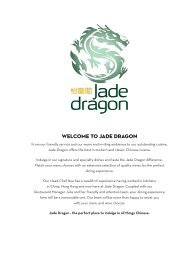 Welcome to Jade Dragon - SKYCITY Auckland