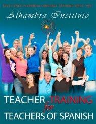 Teaching Training Course for Teachers of Spanish - Alhambra Instituto