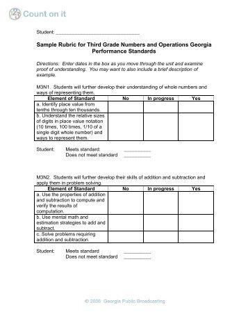 Georgia third grade writing assessment