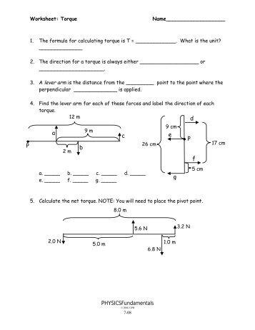 6-23,24 - Worksheet -Energy