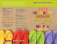 2013 Summer Brochure - nwcdc.org