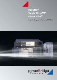 AdvancedMC I/OModule - powerBridge Computer