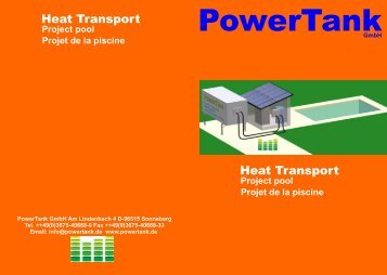 Heat Transport Heat Transport - PowerTank GmbH