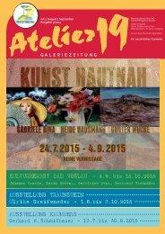 Atelier19 Zeitung 03-2015