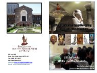 Download Brochure (.pdf) - Center for The Restoration of Ma'at
