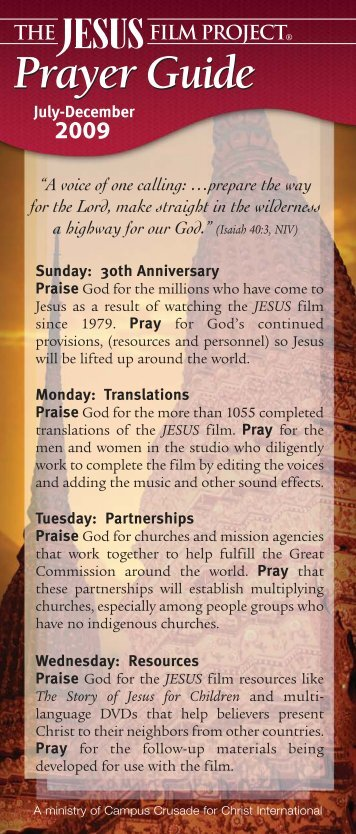 6 moPC Jun09.qxd.IP - The JESUS Film Project