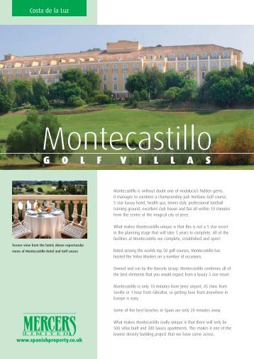 Montecastillo Golf Villas PDF - Spanish Property