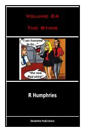 Volume 24 The Sting R Humphries - The Woody Back to School Unit