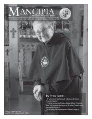 November/December Newsletter - Catholicism.org